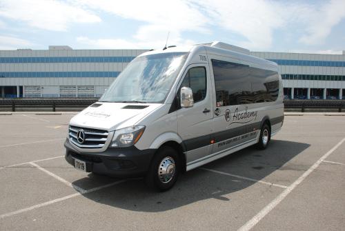 Academy Bus Fleet 15 Passenger Bus To Rent Mercedes Mini Bus