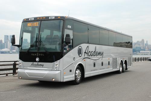 Van Hool Bus >> Academy Bus Fleet 54 Seater Bus Hire Van Hool Coach